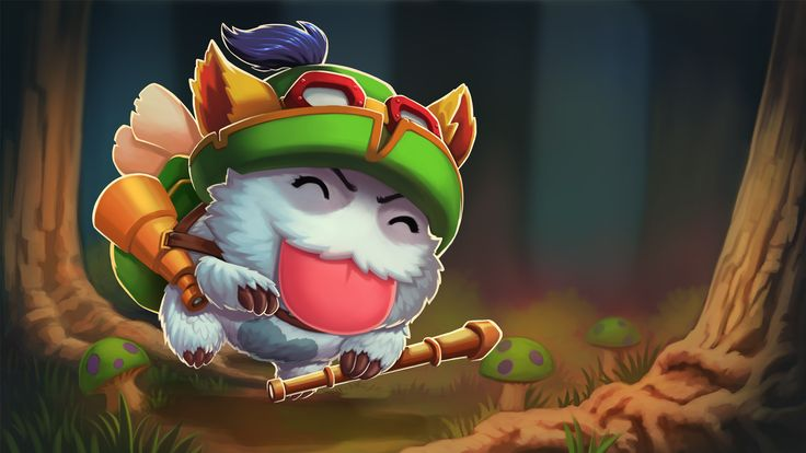 Teemo Champion Poro Wallpapers - Album on Imgur | League ...