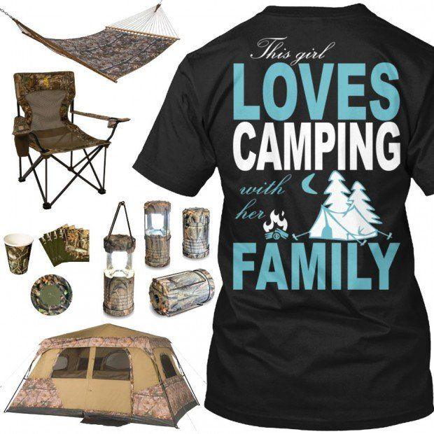 This Girl Loves Camping Shirt & Camo Gear - Real Country Ladies
