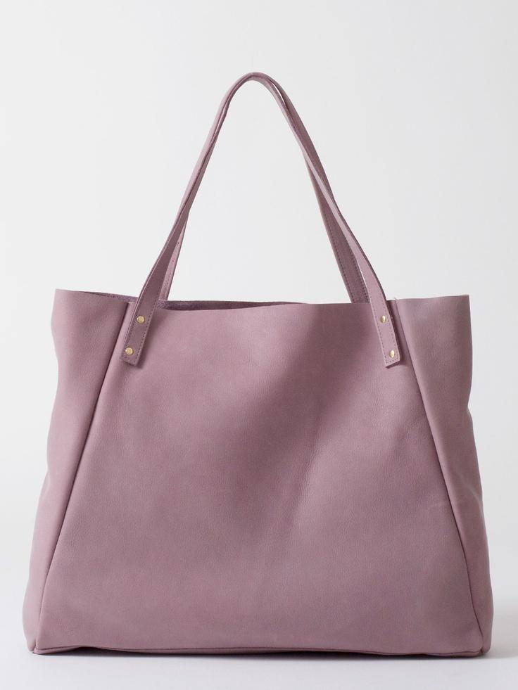 Lavender handbag american apparel | Designer Look Alike