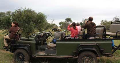 Off-roading with Tydon Safari