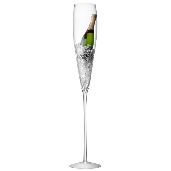 The LSA Maxa Grand Champagne Flute creates an impressive table centrepiece. Perfect as a champagne bottle cooler or ice bucket.