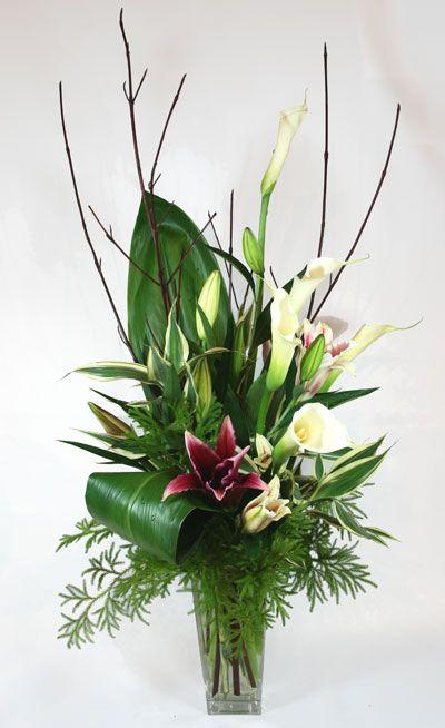 Floral Arrangement 629 best inspiration: contemporary/exotic floral arrangements