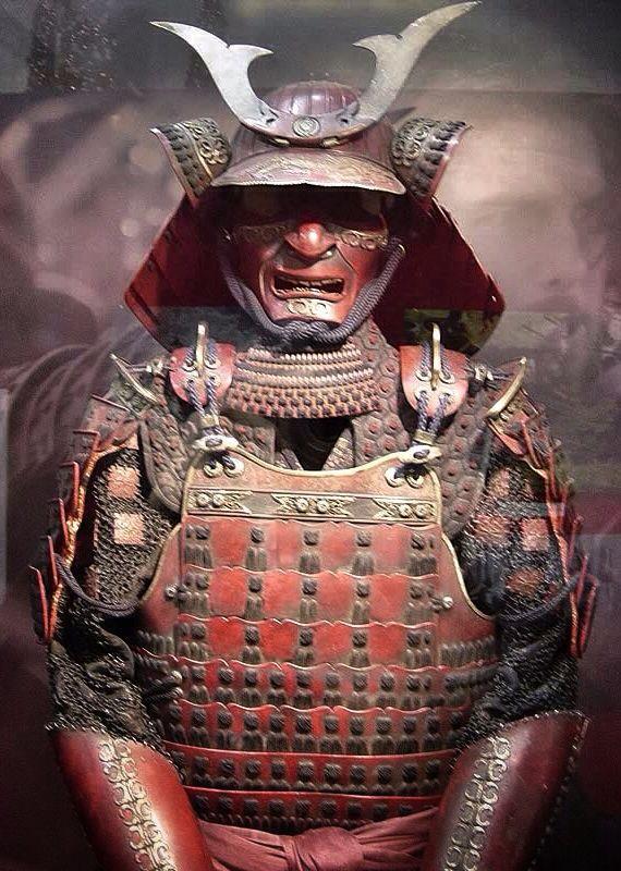 A collection of Samurai Armors