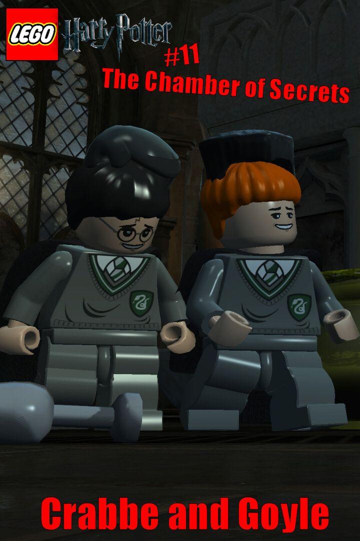 Lego Harry Potter Crabbe And Goyle 11 Youtube Lego Harry Potter Lego Lego Games