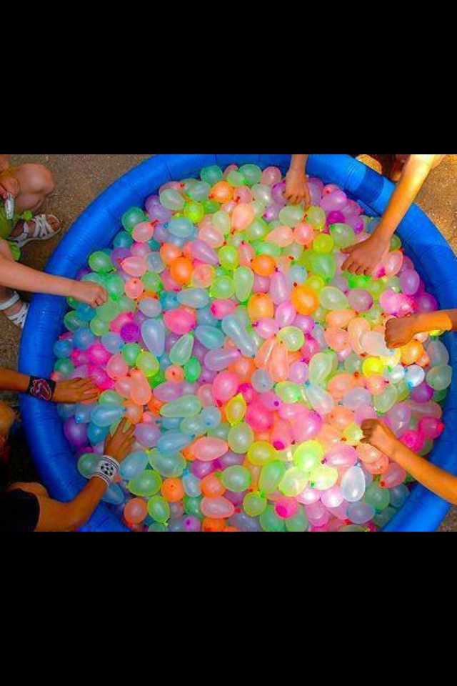 I am going to arrange this for my next birthday. I want to do a giant water balloon fight in a park with my friends & family