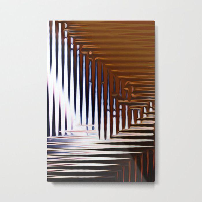 Bright Grid Metal Print By Stephen Linhart Printed On 1 16 Thick Aluminum Sheet Canvas High Gloss Finish Enhances Image And Metal Prints Print Prints