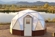 Greenhouse Kit, Sizes and Prices of the Geodesic Growing Dome Greenhouse kits for sale. A state of the art greenhouse kit that surpasses regular greenhouses