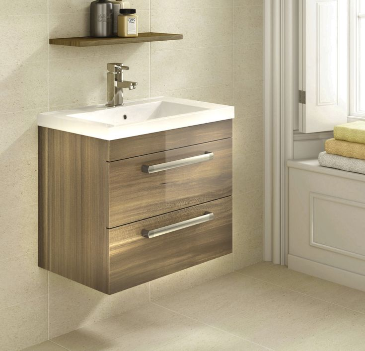 Technique Wood Gloss Wall Hung Vanity Unit - Bath House