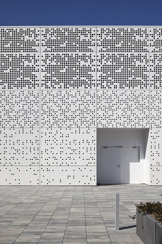 - Architizer Perforated Metal Panels, Rain Screen assembly