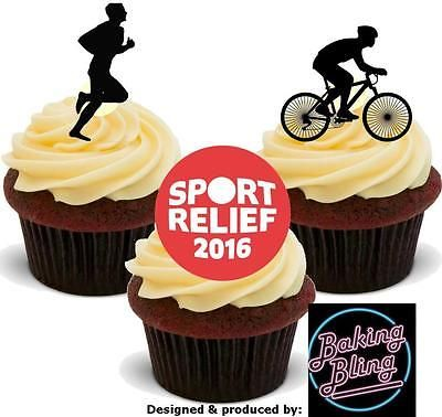 #Novelty #sport relief #charity mix edible stand up cake toppers decorations baki,  View more on the LINK: http://www.zeppy.io/product/gb/2/162007816451/