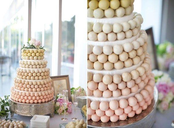 Cake pop en pièce montée