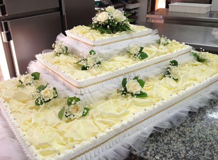 Italian Wedding cake /torta matrimoniale classica