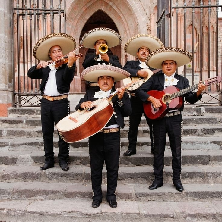 #TravelWithBlend  San Miguel #Mexico Rounding the corner with Photographer Jeremy Woodhouse we run into a group of mariachis playing on the steps of the Parroquia in the colonial jewel of San Miguel de Allende Mexico. Mariachi music is an in-house favorite of ours and the bright melodic sound is the best way to punctuate an afternoon stroll.  #travelphotography #wanderlust #stockphotography