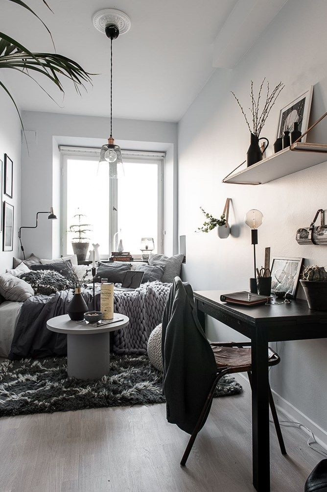 Best 25 tiny studio apartments ideas on pinterest tiny for Very small studio apartment
