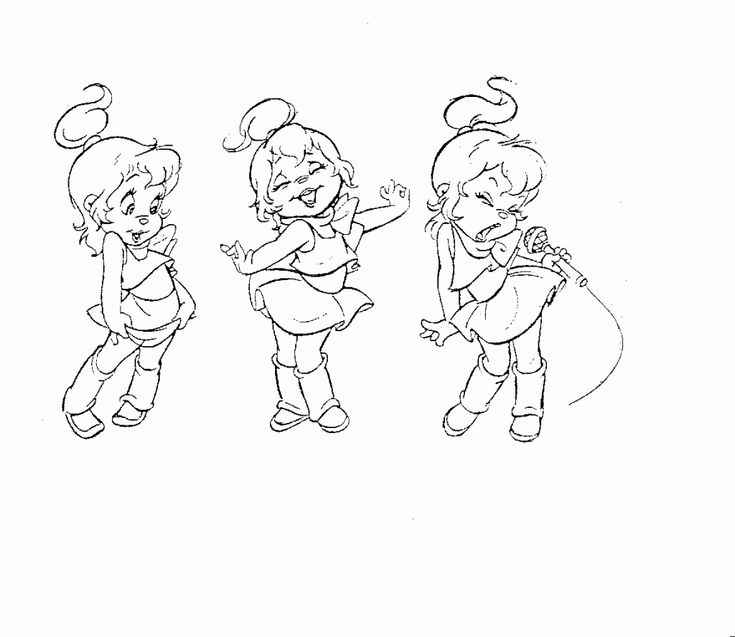 214 best images about cartoon coloring pages on pinterest for Chipettes coloring pages to print