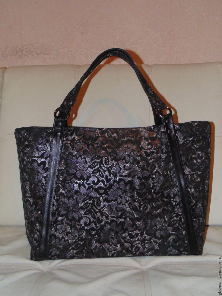 Купить Сумка из натуральной кожи 2 в 1. - сумка ручной работы, сумка женская