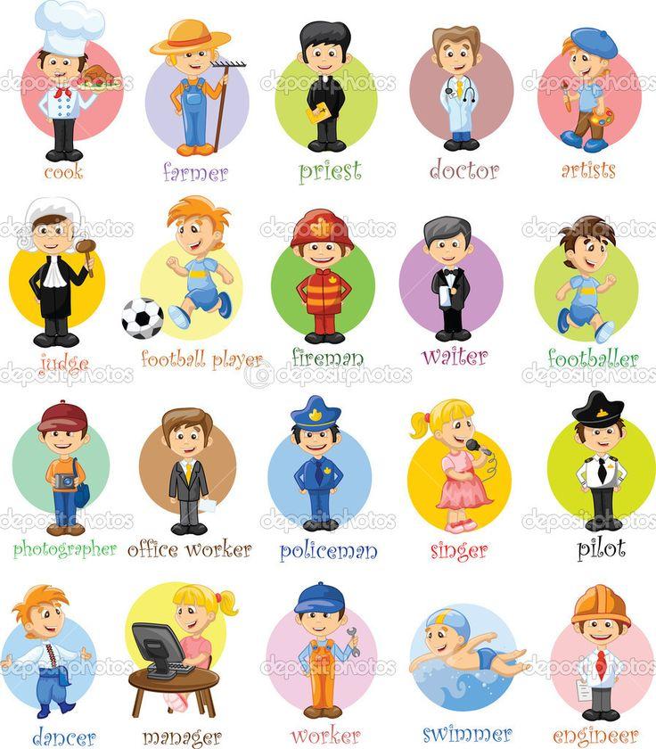 Beroepen Engels