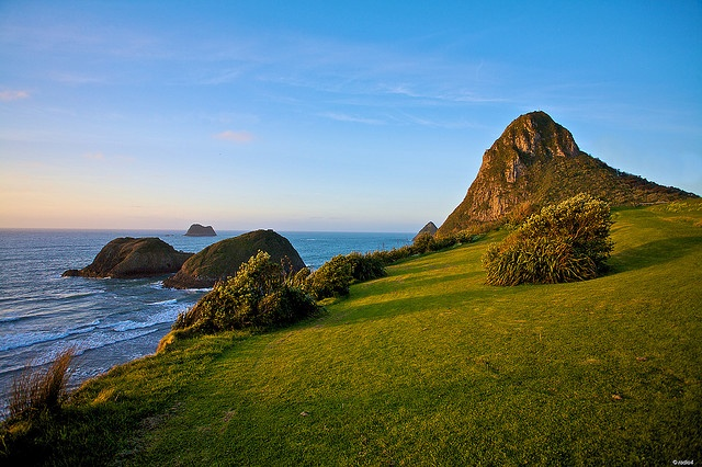 Paritutu Rock and Sugar Loaf Islands, New Plymouth <3