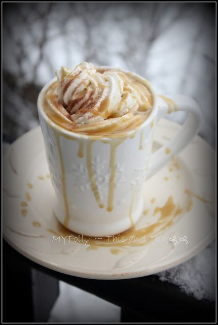 This and that: Salted Caramel Mocha Latte