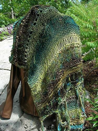 Green Before the Gold free wrap pattern