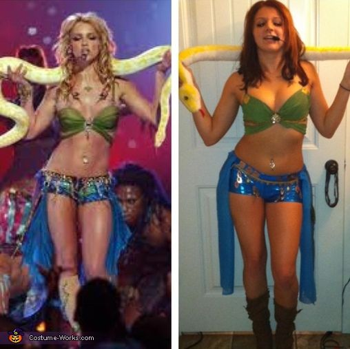 """Britney Spears """"Slave For You"""" - Halloween Costume Contest via @costumeworks"""
