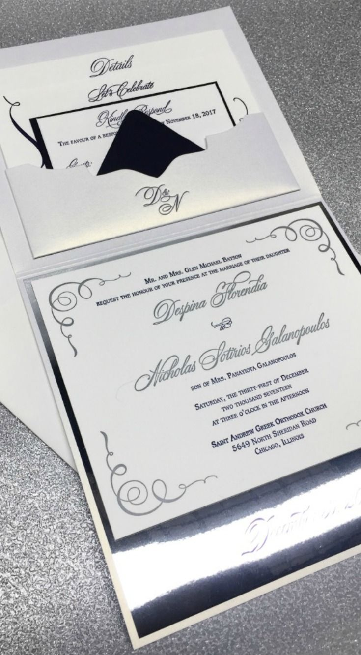151 best Custom Wedding Invitations images by Lucky Invitations ...