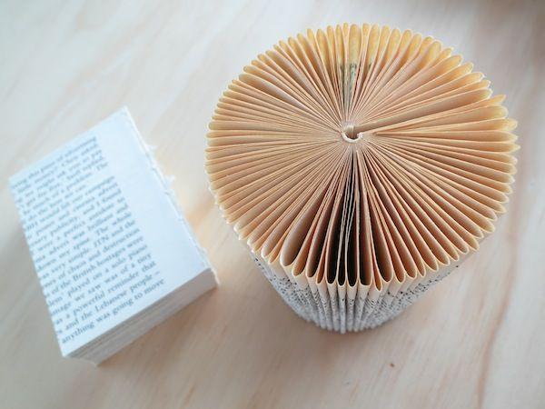 Un #libro e il suo #origami #UrosMihic #expo2015 #Milano #raiexpo #expogate