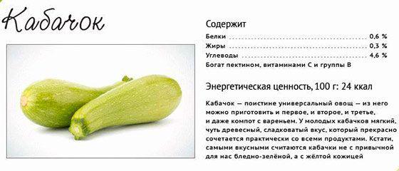 Чем полезны кабачки для организма человека?