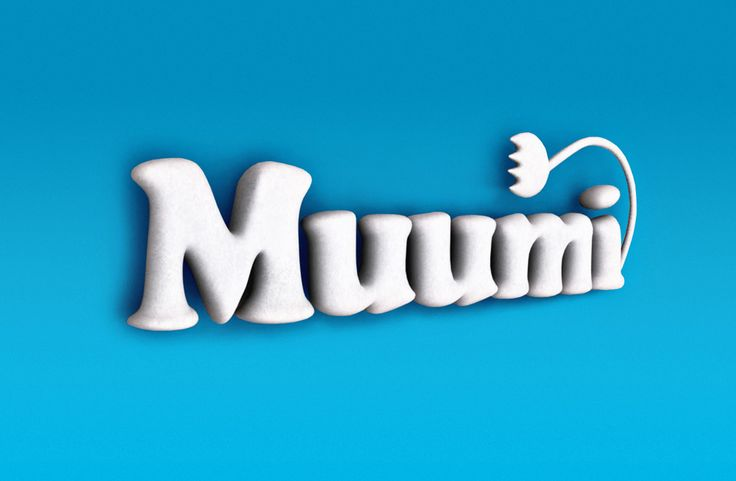 Muumin logotype by brosmark