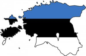 Estonia FLAG MAP