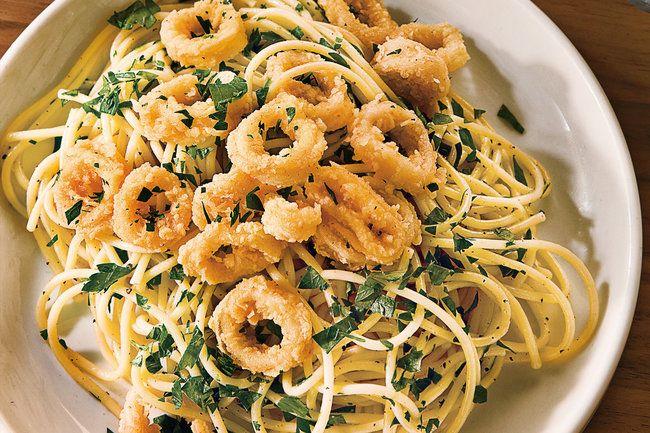 Amalfitanische Pasta mit Calamari - VOGUE