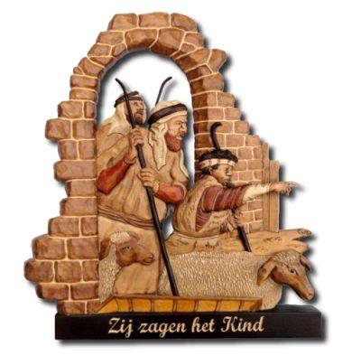 Herders van bethlehem houtsnijwerk pinterest houtsnijwerk - Muur reliefpaneel ...