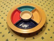 Homer Laughlin HLC Vintage Fiestaware Relish Tray