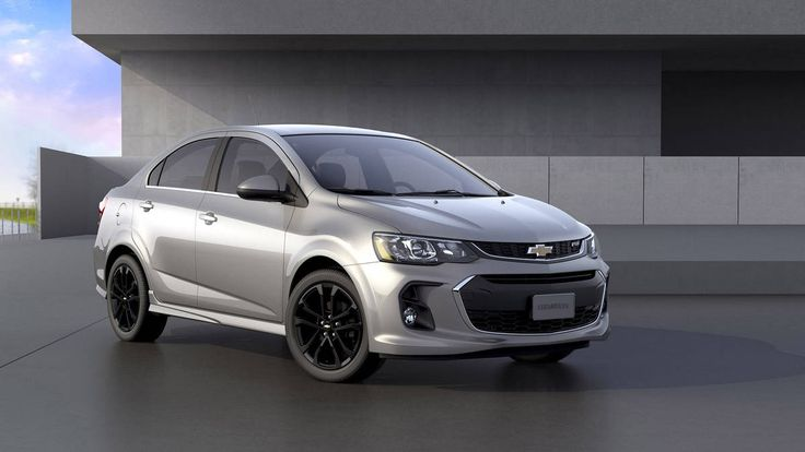 Check out the 2017 Chevrolet Sonic LT. #chevy #gm