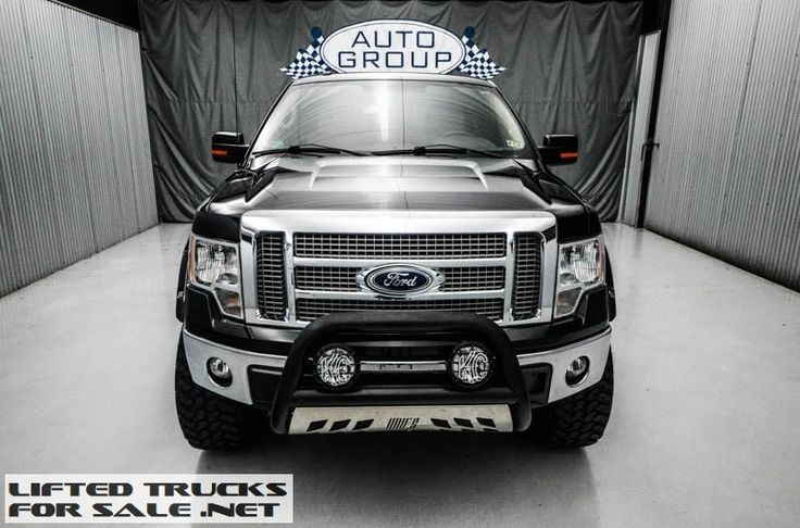 2012 Ford F150 Lariat SuperCrew Lifted Truck