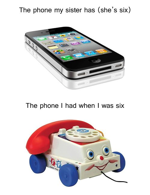 Haha! So true! Kids these days will never know the struggle! Or what a flip phone was!