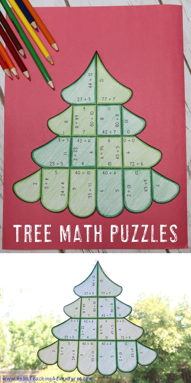 These three puzzles are a great way to get some addition, subtraction, multiplication, or division practice in while celebrating Christmas! These fun evergreen trees make an engaging, hands-on Christmas math center all December long! Use them in your 1st, 2nd, 3rd or 4th grade classroom for basic multiplying review! {first, second, third & fourth grade - 3 puzzles - NO PREP}