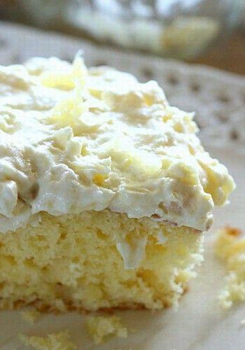 Pineapple Sunshine Cake!