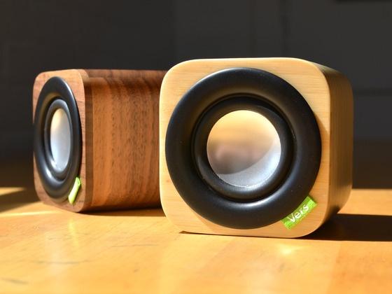 Vers Audio 1Q - 3 inch cube Bluetooth speaker