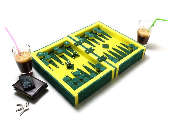 | dede dextrousdesign: soundless backgammon | art and design news, art news | backgammon1
