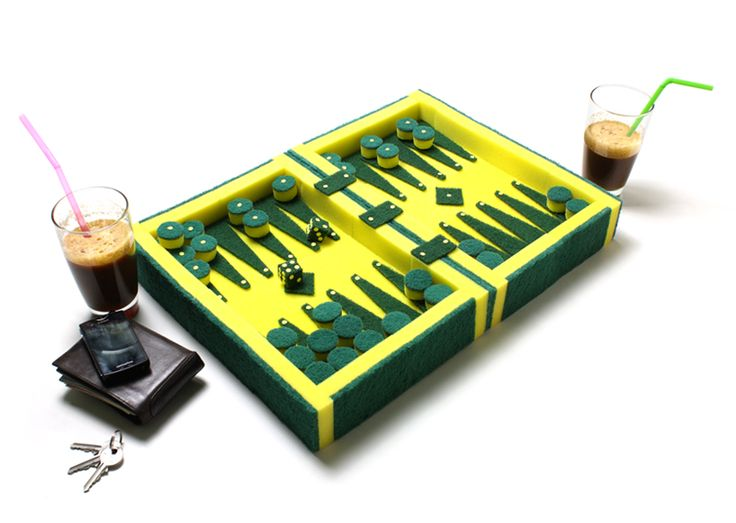 | dede dextrousdesign: soundless backgammon | art and design news, art news | backgammon1