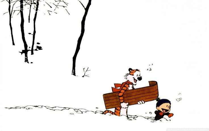 Download Calvin and Hobbes wallpaper