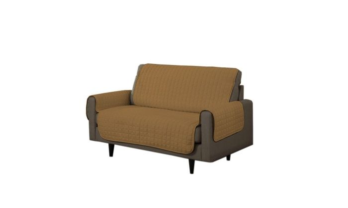 Linen Store, Inc.: Quilted Microsuede Furniture Slipcovers with Tucks