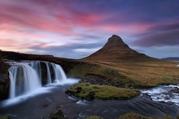 La péninsule de Snæfellsnes et Kirkjufell en Islande