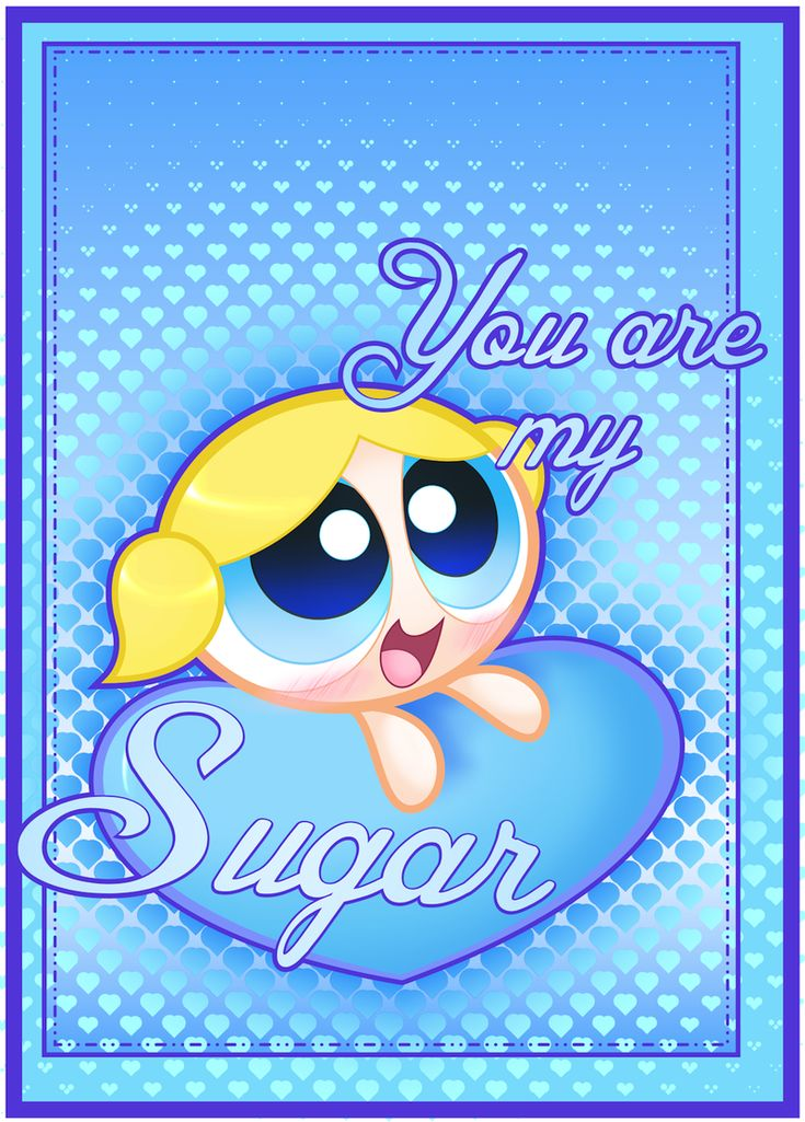 PPG Valentine: You are my Sugar by *JKSketchy | Powerpuff ...