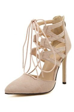 pantofi stiletto crem; pantofi bej; pantofi crem
