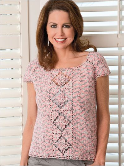 Free Crochet Pattern For Women s Tops : 304 best images about Free Crochet Womens Tops, Skirts ...