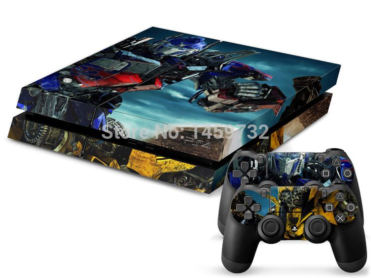 >> Click to Buy << Hot sale Transformers three 1Pcs High-quality PS4 Sticker 1 Console Skin and 2 Controller Sticker skin For PS4 Free shiping #Affiliate