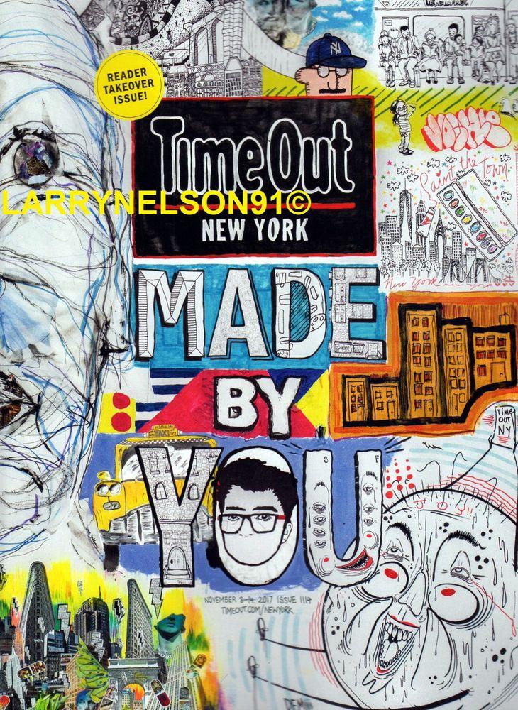 TIME OUT NEW YORK MAGAZINE NOVEMBER 8 14 2017 NEW HOT SPOTS KELELA ROXY MUSIC NY