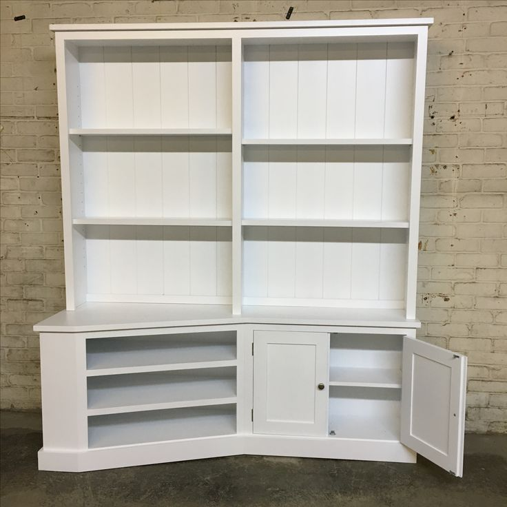 Made To Measure Bookcase Unit In White